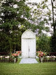 Wedding Altar and Aisle Decor