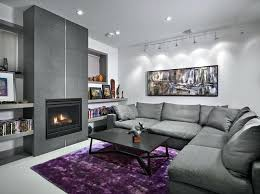purple livingroom gray and purple living room ideas grey and purple living room