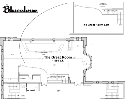 great room floor plans the great room the bluestone columbus oh