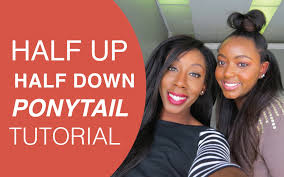 knappy clip in hair extensions knappy hair extensions half up half down clip ins tutorial youtube