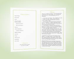 program paper what is a funeral program memorial programs funeral templates
