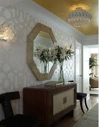 trellis wallpaper design ideas