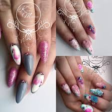 kirsty meakin nail art pink flamingo naio nails products naio