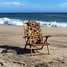 nauset recliner camo cape cod beach chair company