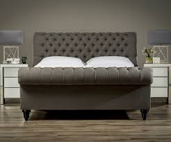 Studded Bed Frame Stanhope Studded Chesterfield Bed Upholstered Beds From Sueno