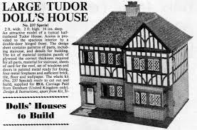 tudor dolls house plans escortsea hobbies of dereham dolls houses and wallpapers 1946 1968 by