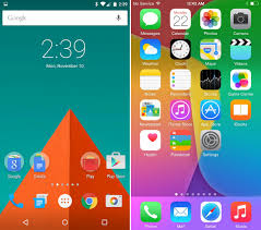 android lolipop android 5 0 lollipop vs ios 8 design showdown image from