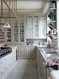 tall cabinets thinking some glass see through but not all of
