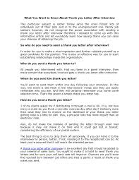 collection of solutions thank you letter after group interview