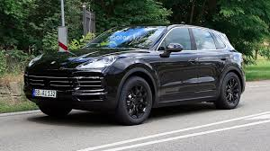 old hatchback porsche big mouthed 2019 porsche cayenne caught grinning on the street