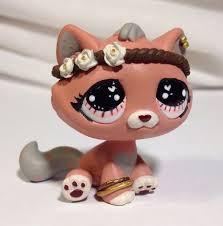 Lps Halloween Costumes Littlest Pet Shop Cat Pretty Pink Kitty Custom Hand Painted