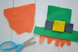 leprechaun craft kid u0027s popsicle stick project darice