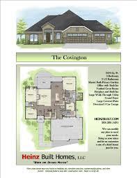 Covington Floor Plan by Sample Home Plans Boise Custom Home Builder