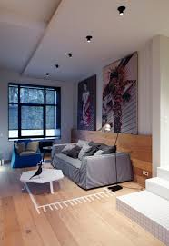 apartments basseynaya str minimalist apartment wooden floor