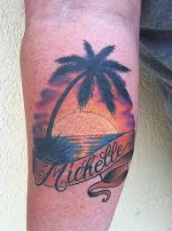 unify tattoo company tattoos dan berk tropical sunset tattoo