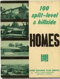 home plans oregon 100 split level hillside homes 1950s house plans oregon