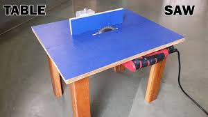 how make a table saw how to make a table saw at home youtube