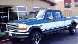 1994 powerstroke f350 4x4 cc lb 5spd one owner 46k original miles