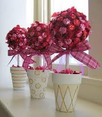 baby shower centerpieces for girl ideas centerpiece idea with different colors bridal shower