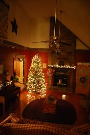 living room christmas tree silver decorations picture of