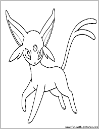 espeon coloring pages espeon coloring page free printable coloring
