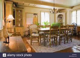 Log Dining Room Table by Antique Wooden Dining Table Chairs Stock Photos U0026 Antique Wooden