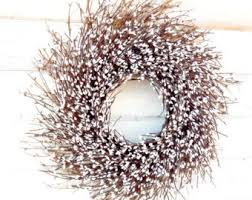 winter wreath etsy