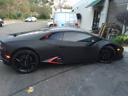 Lamborghini Huracan Blacked Out - flooded lamborghini huracan in san diego gets new replacement