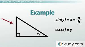 trigonometry and the pythagorean theorem video u0026 lesson