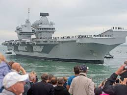 hms queen elizabeth uk u0027s new 3bn aircraft carrier dismissed as