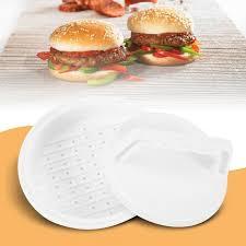 compacteur cuisine diy hamburger maker en plastique hamburger patty viande compacteur