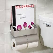 Magazine Rack Bathroom simple bathroom magazine racks apartment therapy