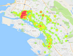 Map Of Chinatown San Francisco by A Tale Of Two Cities U0027 Spending Sf Vs Oakland Trim Insights