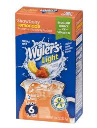 wyler s light singles to go nutritional information wyler s light
