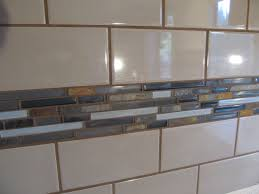 glass tile backsplash designs for kitchens coastal kitchen with a