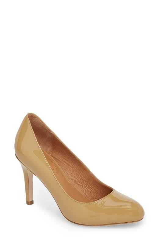 Corso Como Del Beige Patent Leather Pump 8.5M