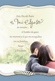feliz thanksgiving day i love you husband spanish father u0027s day card greeting cards
