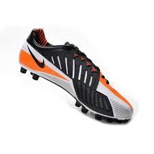 Nike T90 nike boots white orange black nike football boots t90 laser iv ag