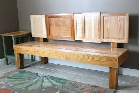 Repurpose Cabinet Doors by Diy Cabinet Door Bench U2013 Do Small Things With Love