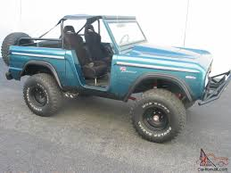 Ford Bronco Lifted Mud Truck - 1969 ford bronco sport truck new paint 351w 35
