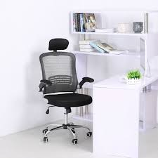 Computer Gaming Desk Chair 1pc Office Mesh Chair High Back Ergonomic Computer Gaming Desk