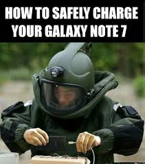 Samsung Meme - how to safely charge your galaxy note 7 samsung galaxy note 7