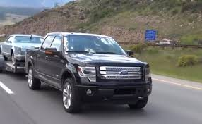 ford f150 ecoboost towing review ike gauntlet 2013 ford f 150 ecoboost 4x4 towing test