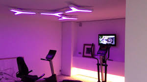 rgb led lights home gym whit rgb controller youtube