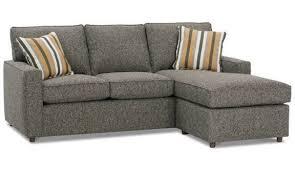 Rowe Ottoman Rowe Monaco Contemporary Sofa With Reversible Chaise Ottoman