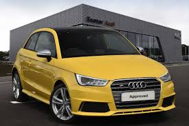 audi a1 s1 used audi a1 s1 yellow cars for sale motors co uk