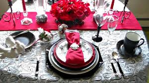 romantic table settings romantic table setting for two youtube