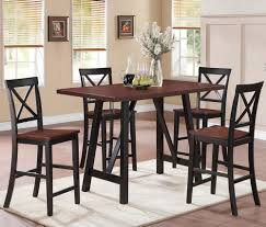 cappuccino counter height dining table u2014 liberty interior