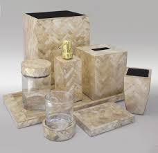 luxury bathroom sets bathroom decor gold herringbone luxury shell vanity set from gail deloach luxury hotel bathroom set mother of pearl
