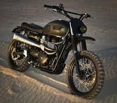 triumph motocross bike triumph scrambler amazonia by ton up garage off road wheels